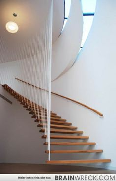 The Odd and Beautiful Stairs