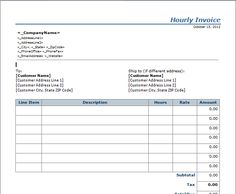 invoice template for word invoice template places to employee invoice template