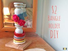 Bangle Holder DIY | Hannah & Husband