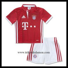 adidas Kinder FC Bayern München 1920 Heim Babykit Fußballtrikot