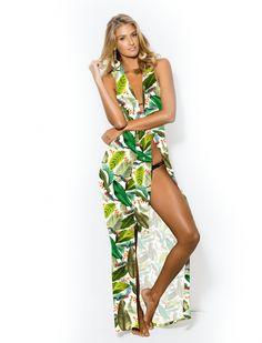 e33701a59 10 melhores imagens de Moda Plus Size Linha Praia Kauê   Yarns ...
