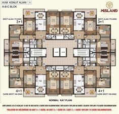 Kat Planları   Misland 360 Rezidans