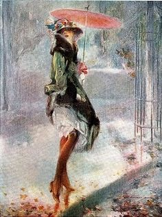 Signs of Spring by Everett Shinn