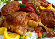 Meat Recipes, Cake Recipes, Bacon, Food And Drink, Turkey, Lunch, Chicken, Diet, Easy Cake Recipes