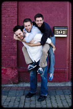 Brothers pose - sara kerens photography