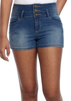 Ymi Girls' High Waisted Shorts - - No Size High Waisted Shorts, Denim Shorts, Holiday Outfits, Cute Outfits, Blouse, Sexy, Skirts, Ocean, Dresses
