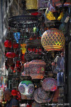 In Istanbul's Grand Bazaar