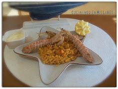 Cocinando en Mislares: Arroz con galeras