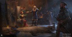 Digital Art Fantasy, New Fantasy, Medieval Fantasy, Fantasy Artwork, Fantasy World, Dark Fantasy, Elder Scrolls Games, Elder Scrolls Online, Art