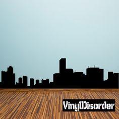Tokyo Skyline Vinyl Wall Decal or Car Sticker SS009