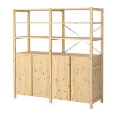IVAR 2 sections/tablettes/élément IKEA