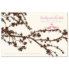 Wedding Ceremony Signs, Wedding Rsvp, Home Wedding, Wedding Stuff, Wedding Ideas, Pink Save The Dates, Wedding Save The Dates, Save The Date Postcards, Save The Date Cards