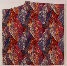 Fry, Roger. Margery, 1913. Block printed linen furnishing fabric. Accession number