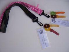 Traktatie: handgemaakt keycord met snoepsleutels