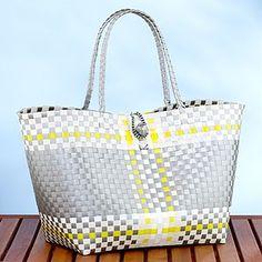 Plastic Oaxaca tote, Tote bag, Summer bag | Mexican Bags, Oaxaca ...