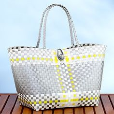 Gold Tote Mexican Bag | Handmade Mexican handbag | Basket bag ...