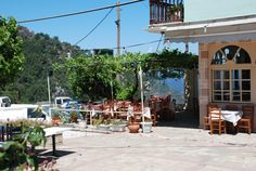 Taverne in Ambelos Samos, Greece, Street View, Islands, Landscapes, Paisajes, Island, Scenery, Grease