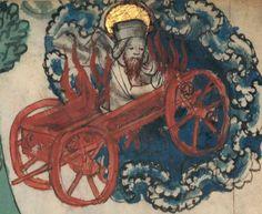 Speculum humanae salvationis.  Date d'édition :  1301-1500  Latin 511  Folio 34r