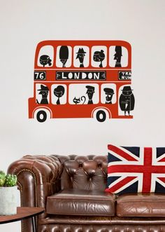 Adesivo Ônibus Londres
