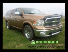 2011 Dodge Ram 1500 Laramie, low km's and loaded with heated and air conditioned leather, touch screen navigation, color matched topper, full trailer tow package, factory remote start, back-up cam, other than small ding on driver door, its fully loaded and in great shape!  www.reversedealer.com Red Deer Dodge Ram 1500, Red Deer, Used Cars, Remote, Touch, Shape, Vehicles, Leather, Color
