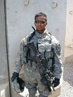 Honoring Army Cpl. Kareem R. Khan who selflessly sacrificed his life on 8/6/2007 in Iraq for our great Country. Please help me honor him so that he is not forgotten.