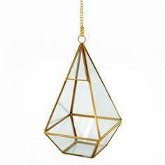 Hanging terrarium wi