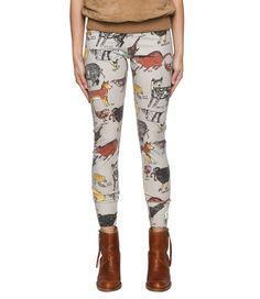 The Arabella Ramsay Feral Animal leggings. Like?