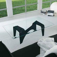 Couchtisch ARAK aus10mm Klarglas oder in schwarz. Das etwas andere Glasmöbel  für  Ihr  Zuhause   Maße:  70x120x35h Ab € 800,-- Glass Furniture, Design, Ad Home, Black