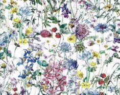 Thorpe C Liberty Tana Lawn Fabric Half Yard by Alicecarolinesupply