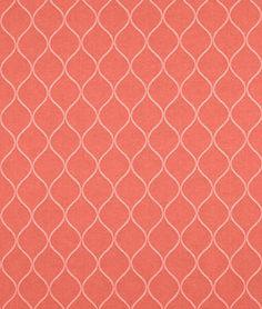 Covington Oh Gee Mandarin Fabric - $13.25 | onlinefabricstore.net #coral #decor #inspiration