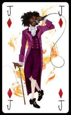 Thomas Jefferson as Jack of Diamonds // Korina Dabundo