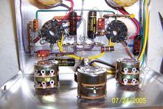 6T9 audio amplifier under construction