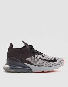 Nike Air Max 270 Flyknit Oreo Black White Running Trainer AO1023-001 ... 15777e365