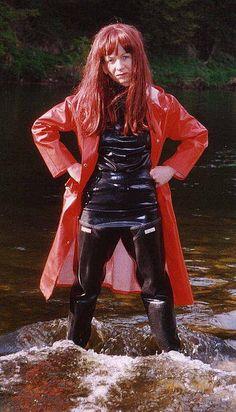 Rubber Dry Suit Wader Fetish 46