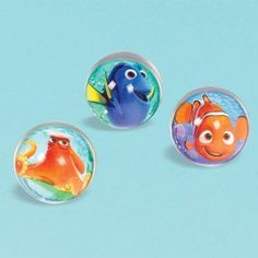Finding Dory Party Supplies, Finding Dory Bounce Balls, Favors