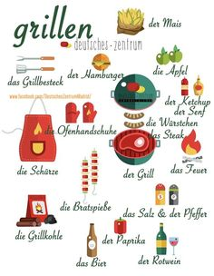 Learn German for Kids – Tips and Templates –CLICK PHOTO– # Learn to Learn German Related Grilling Recipes You Must Try This SummerShotgun shells and dynamite rods from minced meatEasy Homemade BBQ Sauce German Grammar, German Words, German Resources, Deutsch Language, Learning Languages Tips, Germany Language, German Language Learning, Grammar And Vocabulary, Learn German