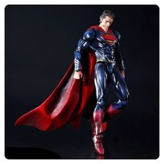 Superman Man of Steel Play Arts Kai Action Figure - Square-Enix - Superman - Action Figures at Entertainment Earth