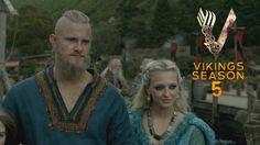 Vikings Season V Trailer | HD | Vikings Season 5, Vikings Show, Vikings Tv Series, Lagertha Hair, Travis Fimmel, Movies And Tv Shows, Couple Goals, Movie Tv, Seasons