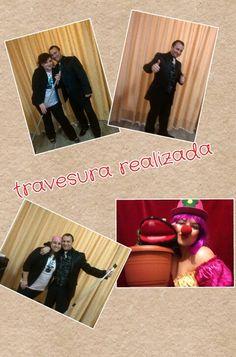collage sencillo de nuestro show infantil.