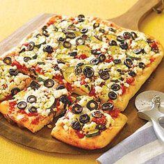 Greek Pizza - Recipes   American Family