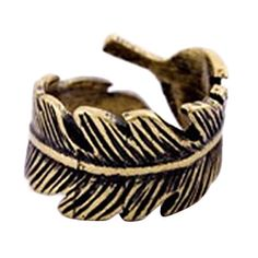 [XmasSale] Shixin® Retro Feather Ring – USD $ 1.99