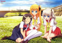 El Anime Charlotte tendrá una OVA el 23 de Marzo del 2016.