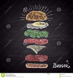 chalk burger - Поиск в Google