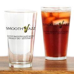 I Love Smooth Jazz Fan Club 3274 Drinking Glass