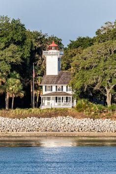 Haig Point #Lighthouse - Daufuskie Island, #South #Carolina - http://dennisharper.lnf.com/