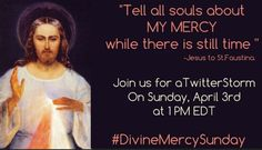 PIN IF YOU LOVE DIVINE MERCY!