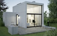 5 Modern Eco-Friendly Prefab Homes You Can Order Right Now – Modern Home Container House Design, Small House Design, Modern House Design, Casas Containers, Concrete Houses, Tiny House Cabin, Box Houses, Prefab Homes, Architecture Design
