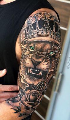 Upper Half Sleeve Tattoos, Unique Half Sleeve Tattoos, Quarter Sleeve Tattoos, Forearm Sleeve Tattoos, Full Sleeve Tattoos, Mens Upper Arm Tattoo, Upper Arm Tattoos For Guys, Rosen Tattoo Mann, Tattoo Arm Mann