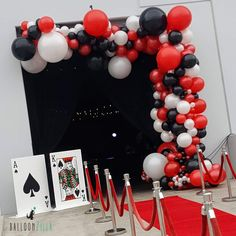 It's not about the cards you're dealt, but how you play the hand. Las Vegas Party, Vegas Theme, Casino Night Party, Red Birthday Party, 70th Birthday Parties, 50th Birthday Party, Casino Party Decorations, Casino Theme Parties, Casino Themed Centerpieces