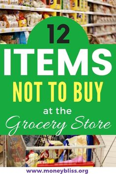 What food to avoid buying at the grocery store. Don't buy these Items at grocery store if trying to stay on a budget. What grocery food to buy at the grocery store on a budget. It is possible to do grocery shopping on a budget - even Healthy grocery shopp Healthy Grocery Shopping, Healthy Groceries, Grocery Coupons, Grocery Store, Money Saving Meals, Save Money On Groceries, Grocery List Printable, Easy Meal Plans, Frugal Tips